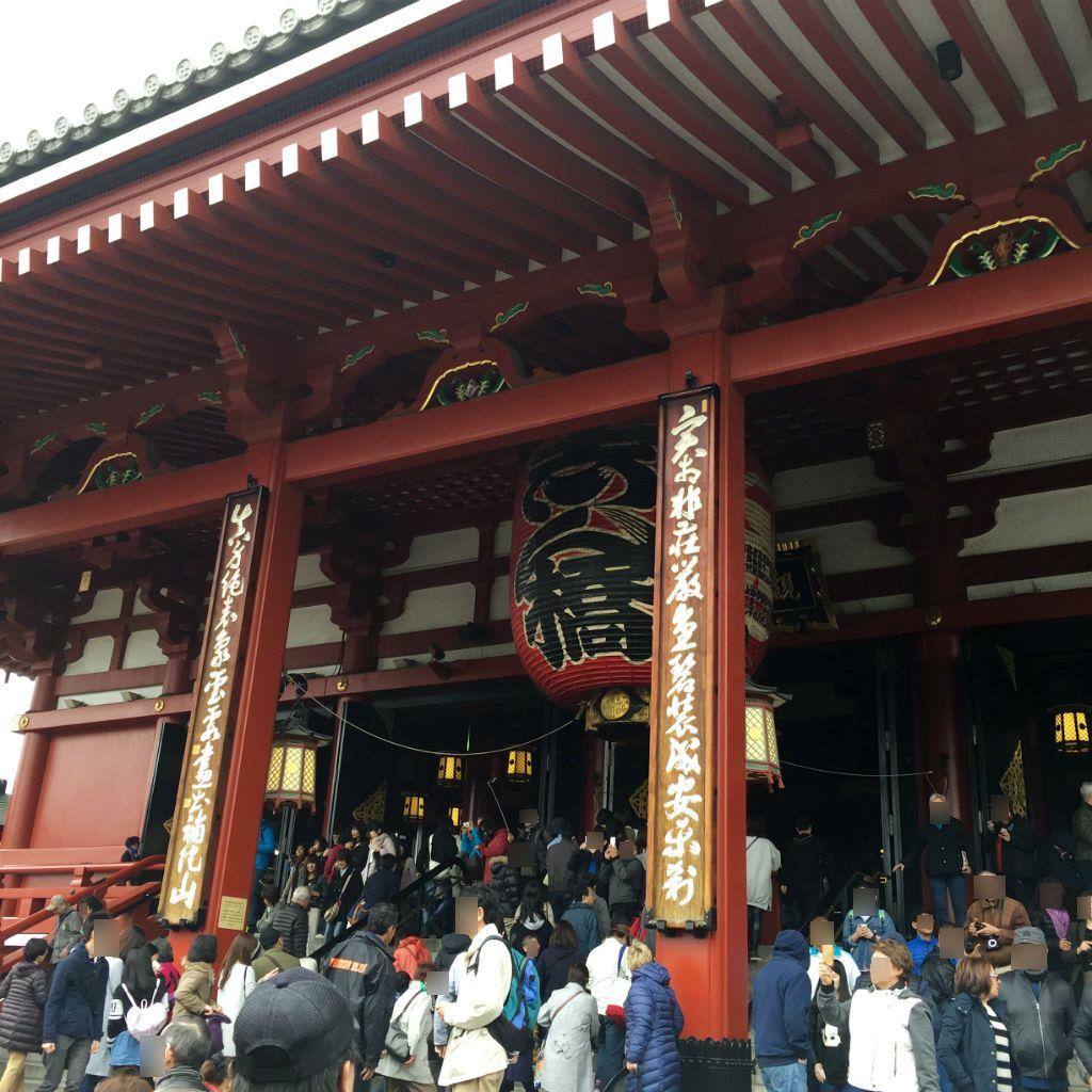 東京観光:浅草寺のいちばん奥