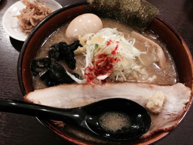 札幌ら〜めん共和国:味噌ラーメン