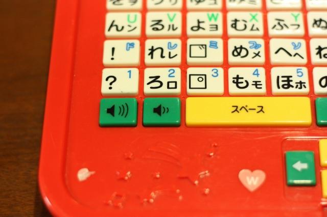 音量ボタン