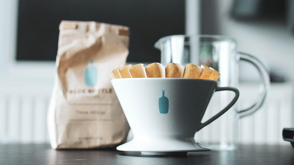 コーヒーフィルターを変える